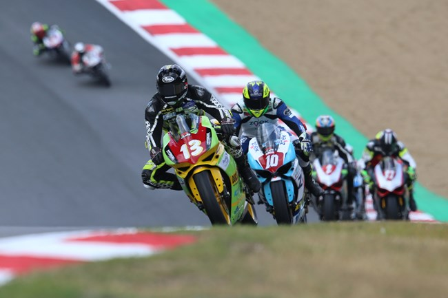 Rob Guiver at Brands Hatch
